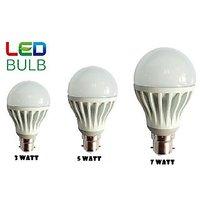 Combo Of 3W, 5W, 7W Led Bulbs(Set Of 3 Bulbs) - 83044944