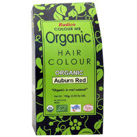 Radico Colour Me Organic Auburn Red Hair Colour - 100g
