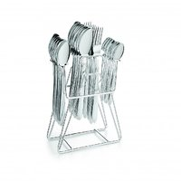 SNB Stainless Steel Cutlery Set Of 24 Pcs - 83156178