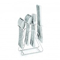 SNB Stainless Steel Cutlery Set Of 24 Pcs With Knife