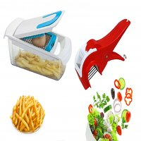 Patidar Polymers Fries And Salad Maker Combo Blue
