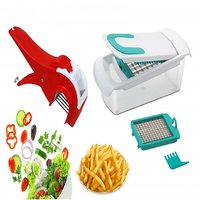 Patidar Polymers Fries And Salad Maker Combo Green