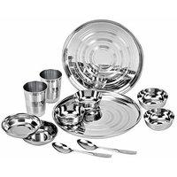 Jaipan Stainless Steel Dinner Set Of-12