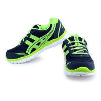 Zed Rock-1101 N.Blue.P.Green Sports Shoes