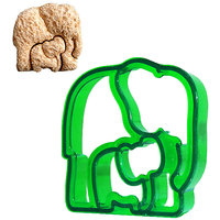 Elephant Shaped Sandwich Cutter Cookie Biscuit Cutter - Random Color