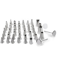 52 Fondant Cup Cake Decorating Icing Pastry Piping Nozzles Tips Set Pastry