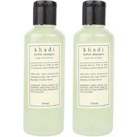 Khadi Harbal Shampoo  With Neem, Tulshi, Honey Pack Of Two