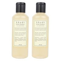 Khadi Harbal Shampoo With Rose, Sandal  Honey Pack Of Two