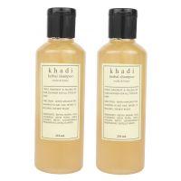 Khadi Harbal Shampoo With Reetha  Honey Pack Of Two