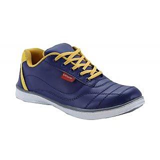 Bachini Mens Casual Shoes (1512-Navy Blue)