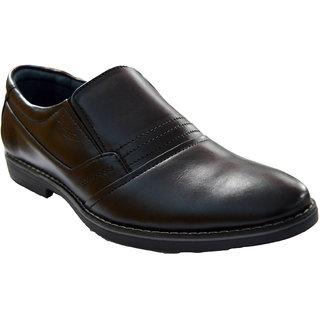 Designer Pure Leather Black Shoes For Men - 83493939