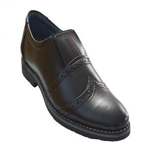 Designer Pure Leather Black Shoes For Men - 83494209
