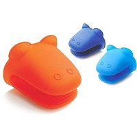 IH-9090 IDEAL HOME 2 PCS SET OF SILICON BAKING GLOVE (HIPPO)