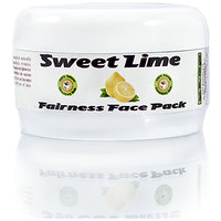 Ayurvedic Herbal Sweet Lime Fairness Glow Face Pack