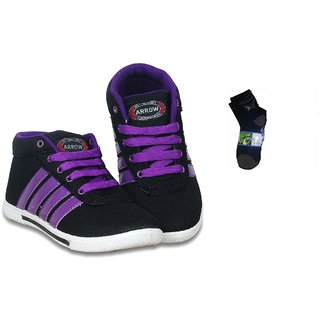Arrow High Performance Shoes With Free Ankle Socks