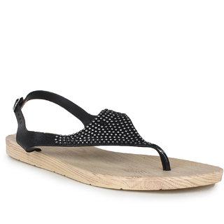Do Bhai Women's Flat Sandals