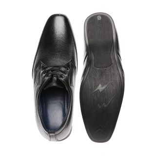 Bruno Manetti Intricately Black Formal Shoes