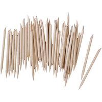 MagiDeal Wood Cuticle Stick Nail Art Tool Manicure Pedicure 100Pcs L