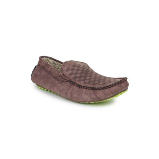 DIGNI BROWN Synthetic Slip On Mens Loafers-6 - 83903725