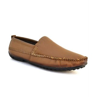 Leather Men Tan Zoot24 Leather Casuals Shoes