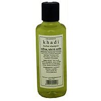Hair Shampoo - Herbal - Saffron, Tulsi & Reetha Shampoo - By Khadi - 84225261