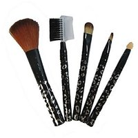 5 Pieces Make Up Brush Cosmetic Set Kit Professional Multi Functional Product - 84346601