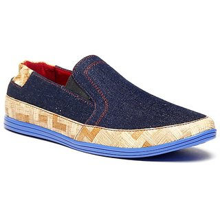 Zapatoz Next Generation Blue Men's Slip On Casual Shoes