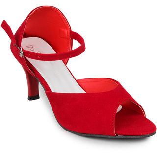 Do Bhai Women's Good Sandal Red