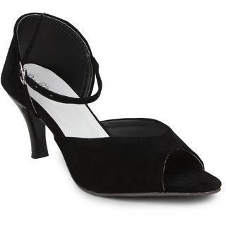 Do Bhai Women's Good Sandal Black