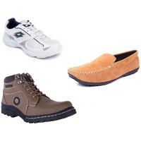 Lotto Pounce Sport Shoe With Boot And Loafer For Men