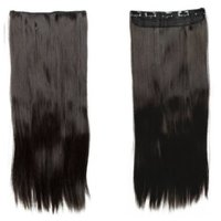 Majik Human Hair Extensions Online, Dark Brown, 26 Inches 100G