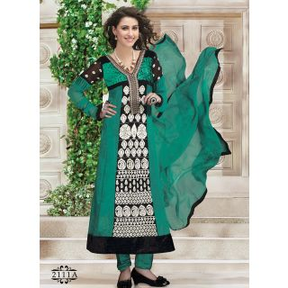 Fascinating Festive Choice Churidar Salwar Suit