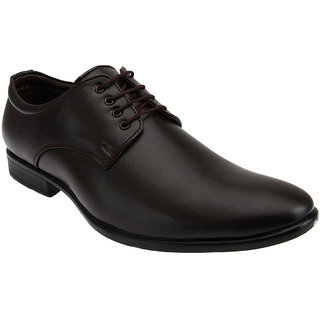 Tycoon Mens Formal Shoes - Brown - Synthetic Leather - Lace Up Shoes - 85060824