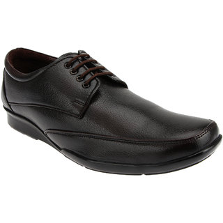 Tycoon Mens Formal Shoes - Brown - Synthetic Leather - Lace Up Shoes - 85078538