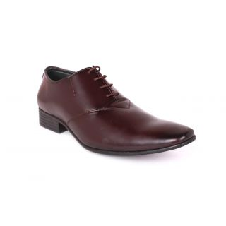 Tycoon Mens Formal Shoes - Brown - Synthetic Leather - Lace Up Shoes - 85122381