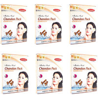 Ganpati Herbal Chandan Face Pack 25 Gms Set Of 6
