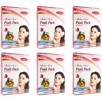 Ganpati Herbal Fruit Face Pack 25 Gms Set Of 6