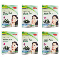 Ganpati Herbal Neem Face Pack 25 Gms Set Of 6