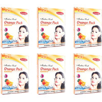 Ganpati Herbal Orange Face Pack 25 Gms Set Of 6