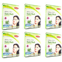 Ganpati Herbal Tulsi Face Pack 25 Gms Set Of 6