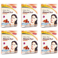 Ganpati Herbal Almond Face Pack 25 Gms Set Of 6