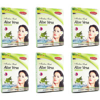 Ganpati Herbal Aloe Vera Face Pack 25 Gms Set Of 6