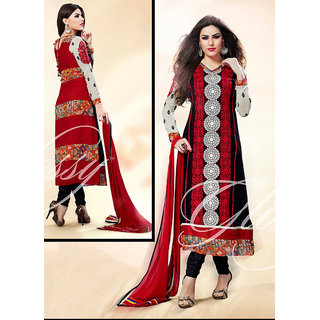 Long Designer Churidar Salwar Suit