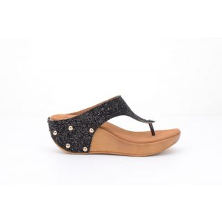Bruno Manetti Black Heels - 85682083