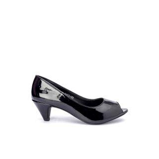 Bruno Manetti Black Heels - 85682079