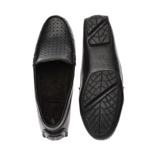 Bruno Manetti Black Casual Shoes - 85682002