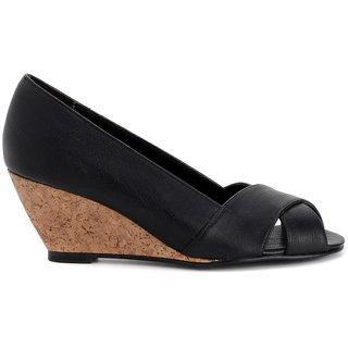 Bruno Manetti Black Heels - 85682095