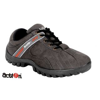 Action Men's Grey Adventure Casual Shoes