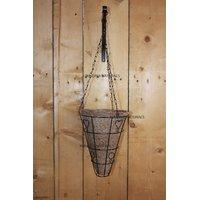 Minerva Naturals - Coir Hanging Pot Cone Shape (SET OF 2) 30 Cm X 23 Cm X 23 Cm