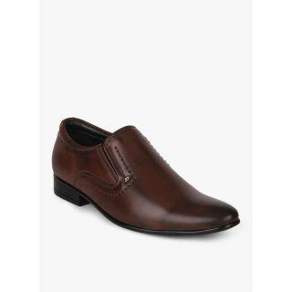 San Frissco- Sythetic Leather Formal Shoes EC 3512-Brown